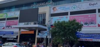 Bảo vệ cho chợ Quảng Ngãi chất lượng cao
