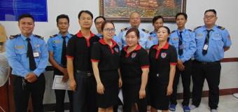 Cty bảo vệ cụm công nghiệp cầu cảng Phước Đông